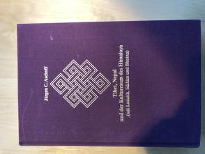 Tibet, Nepal und der Kulturraum des Himalaya (mit Ladakh, Sikkim und Bhutan) von Aschoff,  Jürgen C., Tethong,  Kalon T