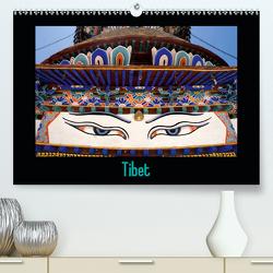 Tibet (Premium, hochwertiger DIN A2 Wandkalender 2021, Kunstdruck in Hochglanz) von ledieS,  Katja