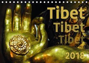 Tibet – Tibet – Tibet 2018 (Tischkalender 2018 DIN A5 quer) von Bergermann,  Manfred