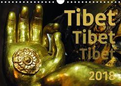 Tibet – Tibet – Tibet 2018 (Wandkalender 2018 DIN A4 quer) von Bergermann,  Manfred