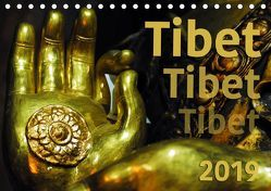 Tibet – Tibet – Tibet 2019 (Tischkalender 2019 DIN A5 quer) von Bergermann,  Manfred