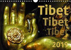 Tibet – Tibet – Tibet 2019 (Wandkalender 2019 DIN A4 quer) von Bergermann,  Manfred
