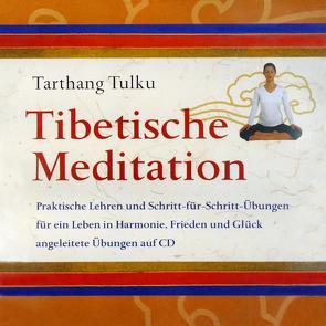 Tibetische Meditation CD von Tarthang,  Tulku
