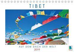 Tibets Weiten: Auf dem Dach der Welt (Tischkalender 2019 DIN A5 quer) von CALVENDO