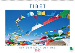 Tibets Weiten: Auf dem Dach der Welt (Premium, hochwertiger DIN A2 Wandkalender 2020, Kunstdruck in Hochglanz) von CALVENDO