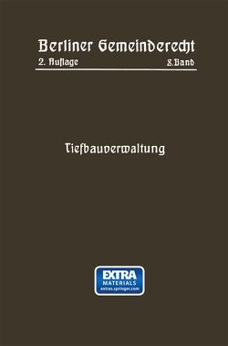 Tiefbauverwaltung von Magistrat Von Berlin