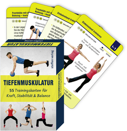 Trainingskarten: Tiefenmuskulatur von Thomschke,  Ronald