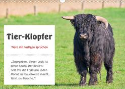 Tier-Klopfer (Wandkalender 2020 DIN A3 quer) von Kulartz,  Rainer, Plett,  Lisa