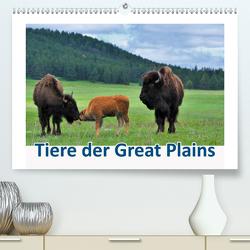 Tiere der Great Plains (Premium, hochwertiger DIN A2 Wandkalender 2020, Kunstdruck in Hochglanz) von Wilczek,  Dieter-M.