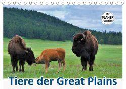 Tiere der Great Plains (Tischkalender 2019 DIN A5 quer) von Wilczek,  Dieter-M.