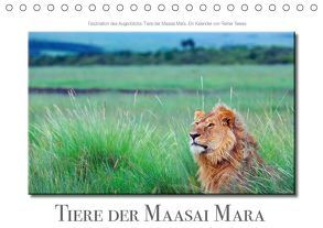 Tiere der Maasai Mara (Tischkalender 2018 DIN A5 quer) von Tewes,  Rainer