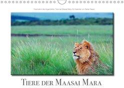 Tiere der Maasai Mara (Wandkalender 2018 DIN A4 quer) von Tewes,  Rainer