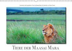 Tiere der Maasai Mara (Wandkalender 2019 DIN A3 quer) von Tewes,  Rainer