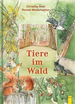 Tiere im Wald von Maderbacher,  Renate, Rettl,  Christine