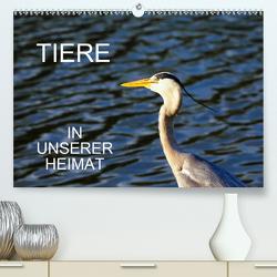 Tiere in unserer Heimat (Premium, hochwertiger DIN A2 Wandkalender 2021, Kunstdruck in Hochglanz) von Jäger,  Anette/Thomas