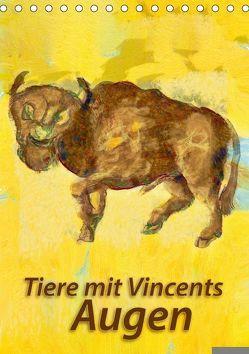 Tiere mit Vincents Augen (Tischkalender 2018 DIN A5 hoch) von Bleckmann,  Mathias