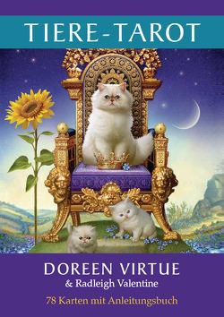 Tiere-Tarot von Valentine,  Radleigh, Virtue,  Doreen