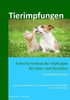 Tierimpfungen von Petek-Dimmer,  Anita