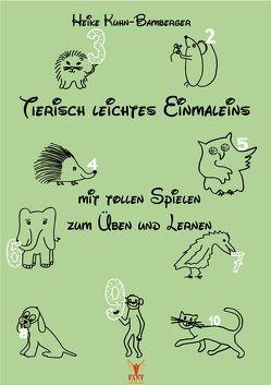 Tierisch leichtes Einmaleins von Kuhn-Bamberger,  Heike
