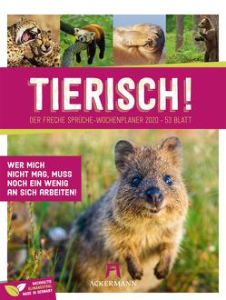 Tierisch Sprüchekalender – Wochenplaner 2020