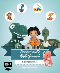 Tierisch süße Häkelfreunde – Die Dinos kommen von Amigurumipatterns.net