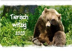 Tierisch witzig (Wandkalender 2020 DIN A2 quer) von / Kottal,  Elsner