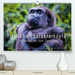 Tierische Charakterköpfe (Premium, hochwertiger DIN A2 Wandkalender 2020, Kunstdruck in Hochglanz) von Gerlach,  Ingo