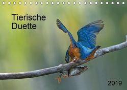 Tierische Duette (Tischkalender 2019 DIN A5 quer) von Oldani,  Dorothea