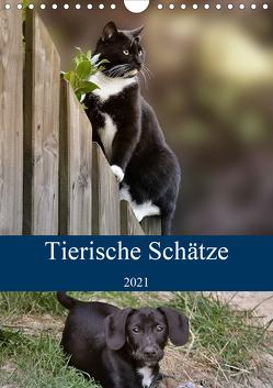 Tierische Schätze (Wandkalender 2021 DIN A4 hoch) von Metternich,  Doris