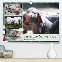 Tierische Schweinerei (Premium, hochwertiger DIN A2 Wandkalender 2020, Kunstdruck in Hochglanz) von Mielewczyk,  Barbara