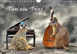 Tierische Trios (Wandkalender 2019 DIN A4 quer) von glandarius,  Garrulus