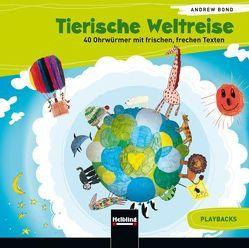 Tierische Weltreise, Playback-CD von Bond,  Andrew
