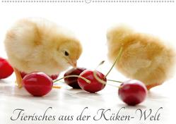 Tierisches aus der Küken-WeltAT-Version (Wandkalender 2021 DIN A2 quer) von Riedel,  Tanja