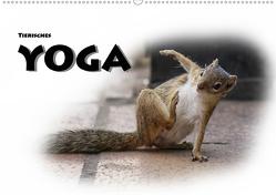 Tierisches Yoga (Wandkalender 2019 DIN A2 quer) von Styppa,  Robert