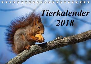 Tierkalender 2018 (Tischkalender 2018 DIN A5 quer) von Tschöpe,  Frank