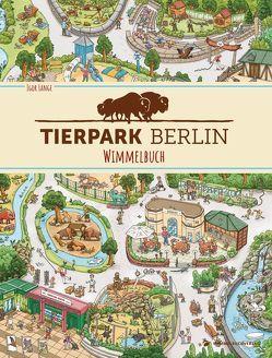 Tierpark Berlin Wimmelbuch von Lange,  Igor