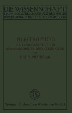 Tierpfropfung von Przibram,  Hans