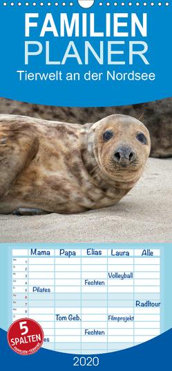 Tierwelt an der Nordsee 2020 – Familienplaner hoch (Wandkalender 2020 , 21 cm x 45 cm, hoch) von Lehmann (Hrsg.),  Steffani