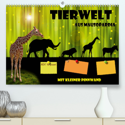 Tierwelt aus Mausopardia (Premium, hochwertiger DIN A2 Wandkalender 2020, Kunstdruck in Hochglanz) von Jüngling alias Mausopardia,  Monika