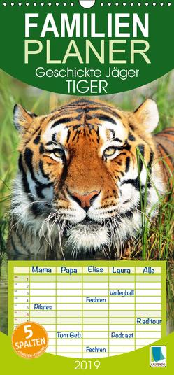 Tiger: Geschickte Jäger (Wandkalender 2019 PRO_49_format hoch) von CALVENDO