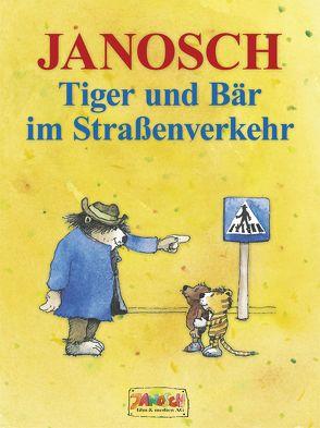 Tiger und Bär im Straßenverkehr von Janosch