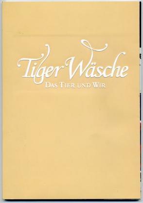 Tiger Wäsche von Kampmann,  Sabine