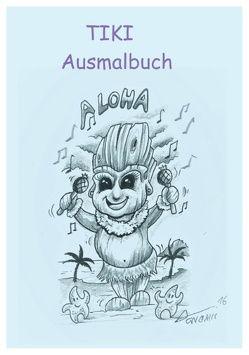 Tiki Ausmalbuch von Peters,  Armin
