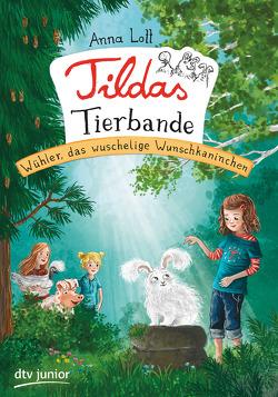 Tildas Tierbande – Wühler, das wuschelige Wunschkaninchen von Körting,  Verena, Lott,  Anna