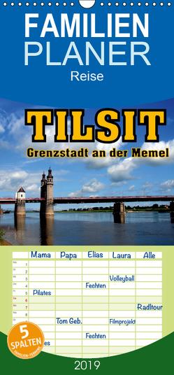 Tilsit – Grenzstadt an der Memel – Familienplaner hoch (Wandkalender 2019 , 21 cm x 45 cm, hoch) von von Loewis of Menar,  Henning