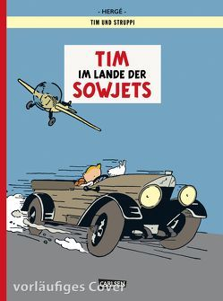 Tim & Struppi 0: Tim im Lande der Sowjets – Farbausgabe von Hergé