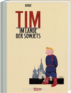 Tim & Struppi 0: Tim im Lande der Sowjets – Vorzugsausgabe von Hergé