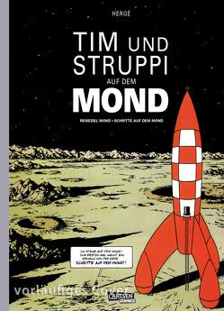 Tim und Struppi: Tim und Struppi auf dem Mond von Hergé