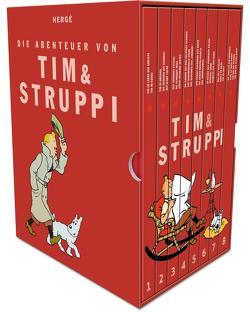 Tim und Struppi: Tim und Struppi Kompaktschuber von Hergé