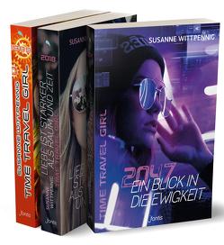 Time Travel Girl – Die komplette Trilogie von Wittpennig,  Susanne